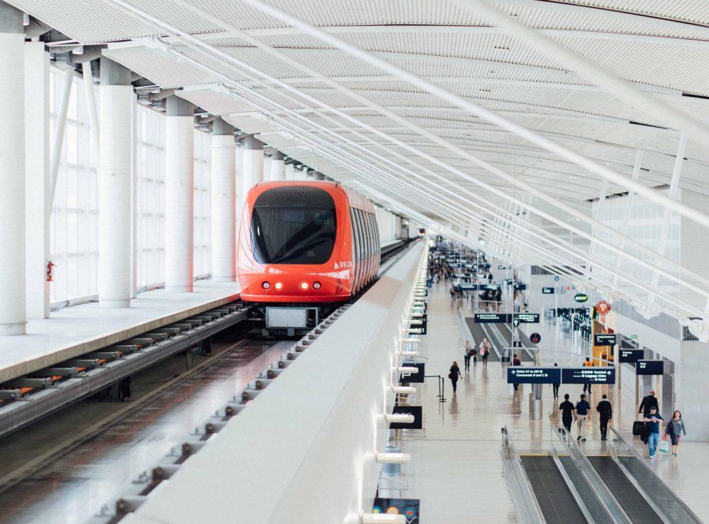 Air-rail links ease airport trips