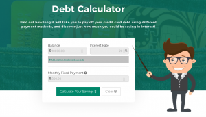 Credit Canada Debt Calculator