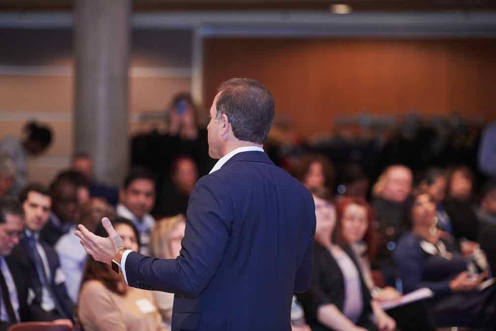 Financial Advisor Client Speaker Gordon Stein